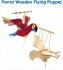 Crafty Packs Online with Charlie: Parrot Wooden Flying Puppet: All Ages