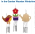 Crafty Packs Online with Charlie: In the Garden Wooden Windchimes: All Ages